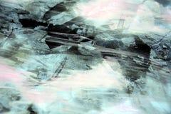 Lodowaty dymiący abstrakcjonistyczny tło z ciemnymi punktami Zdjęcie Stock