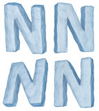 lodowaty listowy n ilustracja wektor