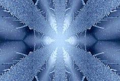 lodowaty tło Zdjęcia Stock