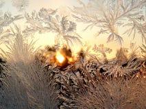 lodowaty tło Obrazy Royalty Free