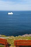 lodowaty widok Zdjęcia Royalty Free