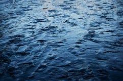 2007 lodowe Stycznia naturalnego ob Siberia konsystencja river zdjęcie stock