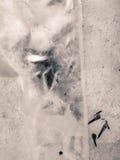 2007 lodowe Stycznia naturalnego ob Siberia konsystencja river Obrazy Stock