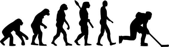 Lodowego hokeja ewolucja Fotografia Stock