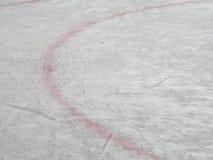 Lodowego hokeja lodowiska ocechowania, zima sporta tło, tekstura, ściana Zdjęcie Royalty Free