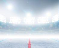 Lodowego hokeja lodowiska stadium Fotografia Royalty Free