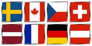 Lodowego hokeja 2015 republika czech Royalty Ilustracja