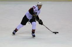 Lodowego hokeja skrzydłowy Obraz Royalty Free