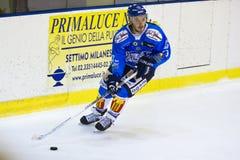 Lodowego hokeja Włoski Najważniejszy liga Zdjęcia Royalty Free