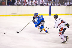 Lodowego hokeja Włoski Najważniejszy liga Obraz Stock