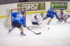 Lodowego hokeja Włoski Najważniejszy liga Zdjęcie Royalty Free