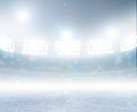 Lodowego lodowiska stadium Fotografia Royalty Free