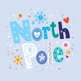 lodowej małej noc północny pingwinów słup Obrazy Royalty Free