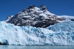 Lodowiec, Argentino jezioro zdjęcia royalty free