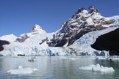 Lodowiec, Argentino jezioro Zdjęcia Stock