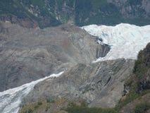 Lodowiec Ciie Alaskie góry obrazy royalty free