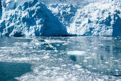 lodowiec góra lodowa Obrazy Royalty Free