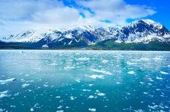 Lodowiec i piękna natura Alaska zdjęcie stock
