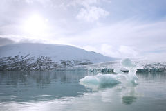 lodowiec jostedalsbreen Fotografia Royalty Free