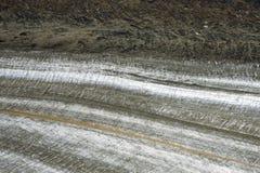 Lodowiec krawędź, Kluane park narodowy, Yukon Obraz Royalty Free