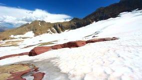 lodowiec Montana sperry zdjęcie wideo