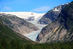 lodowiec Norway Obraz Royalty Free