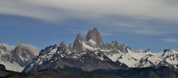 LODOWIEC PERITO MORENO W EL CALAFATE PATAGONIA ARGENTYNA I GLOBALNY nagrzanie zdjęcia stock