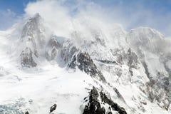 Lodowiec Torre przy Los Glaciares parkiem narodowym, Argentyna Fotografia Royalty Free
