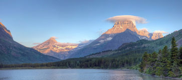lodowiec wiele panorama Zdjęcia Royalty Free
