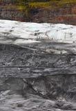 lodowiec wycieczka turysyczna Zdjęcia Royalty Free