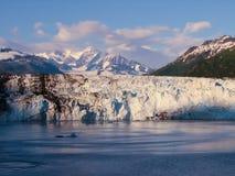 Lodowiec zatoka Alaska Fotografia Royalty Free