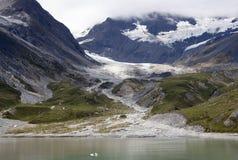 Lodowiec zatoki góry Zdjęcie Royalty Free