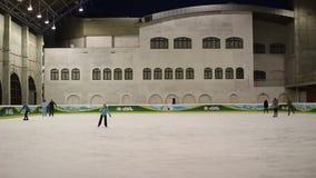 lodowiska łyżwiarstwo zdjęcie wideo
