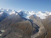 Lodowowie w górach fotografia stock