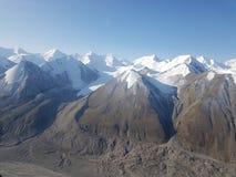 Lodowowie w górach zdjęcie stock