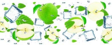 Lodowy Apple Obraz Royalty Free