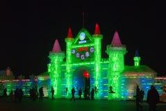 lodowy budowa pałac Fotografia Royalty Free