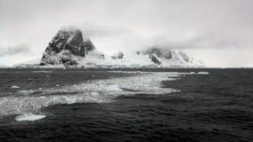 Lodowy floe w oceanie Antarctica zbiory
