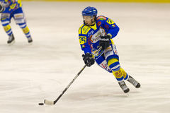 Lodowy hokej obraz royalty free