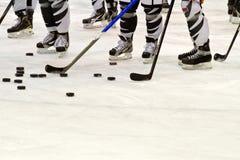 lodowy hokeja gracz Obrazy Royalty Free