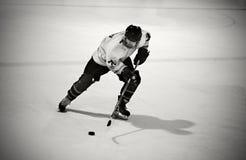lodowy hokeja gracz Zdjęcie Royalty Free