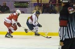 Lodowy Hokejowy Włoski Liga Obrazy Stock