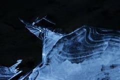 Lodowy i śnieżny świat obraz stock