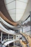Lodowy Krakow Kongresowy Centre w Polska Fotografia Royalty Free