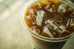 Lodowy latte Zdjęcia Stock