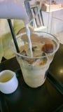 Lodowy latte coffe Zdjęcie Royalty Free