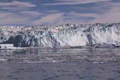 Lodowy lodowiec Greenland Zdjęcia Royalty Free