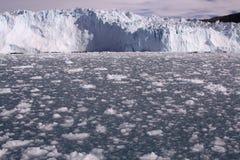 Lodowy lodowiec Greenland Zdjęcia Stock