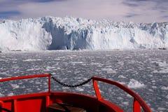 Lodowy lodowiec Greenland Zdjęcie Stock
