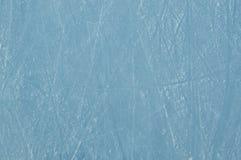 Lodowy lodowisko z narysami zdjęcie stock
